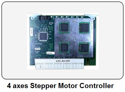 Four axes Stepper Motor Controller